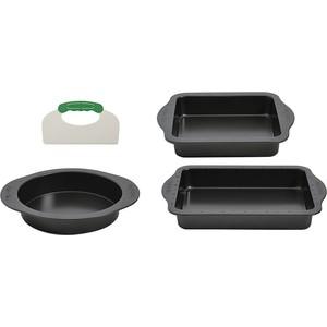 Набор противней с инструментом для нарезания 3 предмета BergHOFF Perfect Slice (1100057) форма для выпечки berghoff perfect slice круглая с инструментом для нарезания диаметр 22 см