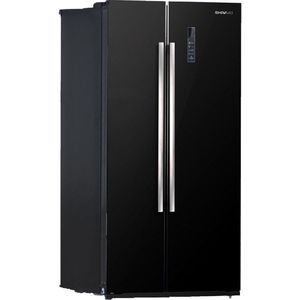 Холодильник Shivaki SBS-550DNFBGl холодильник shivaki bmr 2013dnfw двухкамерный белый