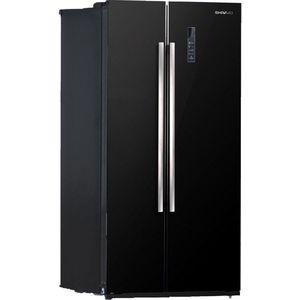 Холодильник Shivaki SBS-550DNFBGl камера заднего вида для subaru intro vdc 026 subaru forester 2008 2012 subaru impreza 2007 2012 subaru legacy 2009 2012 subaru outback 2009 2012