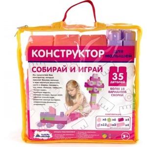 Конструктор Пластмастер Для малышей 35 дет. (14018)