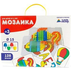 Мозаика Пластмастер С картинками (диам.15мм)(15005) мозаика пластмастер 15026 напольная