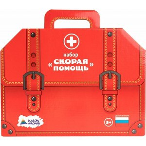 Игровой набор Пластмастер Скорая помощь (22145) татьяна 100 рожева скорая помощь