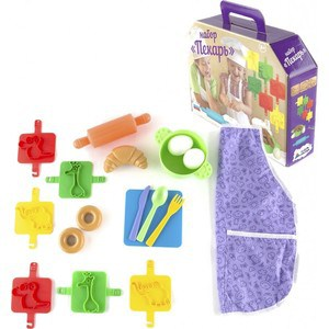Игровой набор Пластмастер Пекарь (22036) пластмастер игровой набор кто в доме хозяин