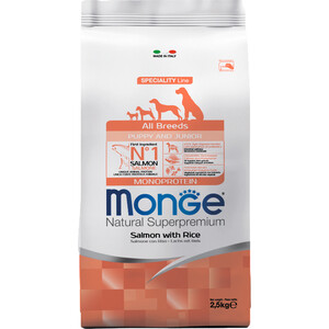 Сухой корм Monge Speciality Line Puppy and Junior All Breed Salmon and Rice с лососем и рисом для щенков всех пород 2,5кг private higher education institution using the tpack model in malaysia