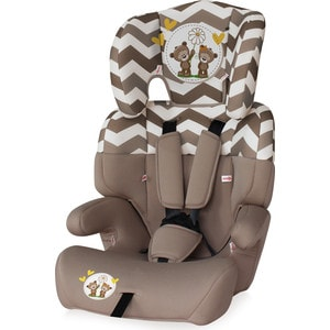 Автокресло Lorelli Junior 9-36 кг Бежевый / Beige Daisy Bears 1730 автокресло lorelli junior plus 9 36 кг серо зеленый grey