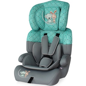 Автокресло Lorelli Junior plus 9-36 кг Серо-зеленый/ Grey&Green Friends 1704