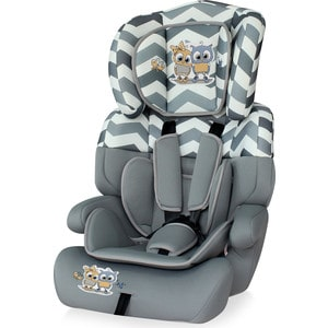 Автокресло Lorelli Junior plus 9-36 кг Серый / Grey Baby Owls 1736 ходунки bertoni lorelli bw 2808