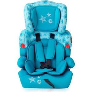 Автокресло Lorelli Kiddy 9-36 кг. Зеленовато-голубой / Aquamarine Stars 1758 коляски для кукол bertoni lorelli tricycle