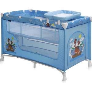 Манеж Lorelli NANNY 2 Синий / Blue Adventure 1610 погремушки bertoni lorelli ключи