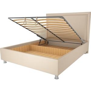Кровать OrthoSleep Нью-Йорк бисквит механизм и ящик 180х200 кровать orthosleep нью йорк шоколад бисквит механизм и ящик 180х200