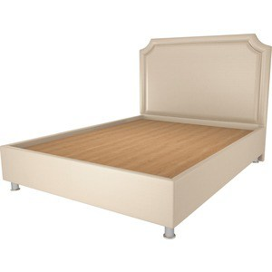 Кровать OrthoSleep Федерика бисквит жесткое основание 200х200 кровать orthosleep федерика бисквит шоколад жесткое основание 200х200