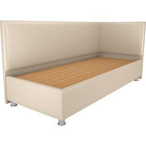 Кровать OrthoSleep Бибионе Лайт жесткое основание Сонтекс Беж 80х200 кровать orthosleep бибионе лайт жесткое основание сонтекс беж 90х200