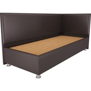 Кровать OrthoSleep Бибионе Лайт жесткое основание Сонтекс Умбер 90х200