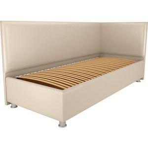 Кровать OrthoSleep Бибионе Лайт ортопед. основание Сонтекс Беж 90х200 кровать orthosleep бибионе лайт жесткое основание сонтекс беж 90х200