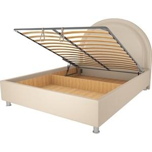 Кровать OrthoSleep Аляска бисквит механизм и ящик 140х200