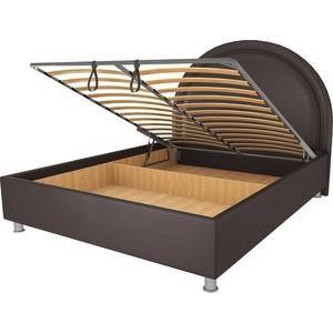 Кровать OrthoSleep Аляска шоколад механизм и ящик 80х200 кровать orthosleep рио шоколад механизм и ящик 80х200