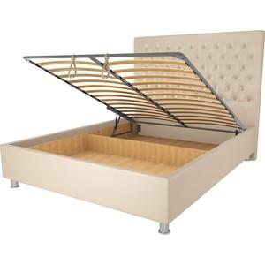 Кровать OrthoSleep Рио бисквит механизм и ящик 140х200