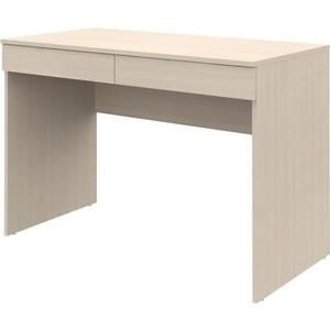 Письменный стол ВасКо Рино 201 дуб молочный 110 см письменный стол васко рино 206 дуб сонома белый глянец 120 см