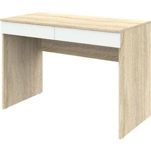 Письменный стол ВасКо Рино 201 дуб сонома/белый глянец письменный стол 120 см рино 206 корпус дуб сонома фасады белый глянец шатура рино