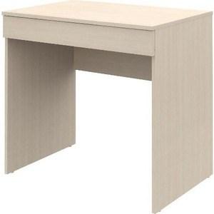 Письменный стол ВасКо Рино 202 дуб молочный 80 см письменный стол васко рино 206 дуб сонома белый глянец 120 см