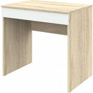 Письменный стол ВасКо Рино 202 дуб сонома/белый глянец 80 см