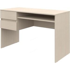 Письменный стол ВасКо Рино 206 дуб молочный 120 см письменный стол 120 см рино 206 корпус дуб сонома фасады белый глянец шатура рино
