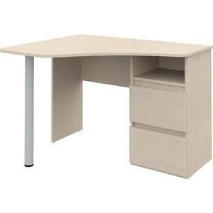 Угловой письменный стол ВасКо Рино 207 дуб молочный
