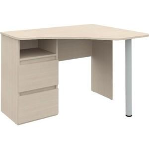Угловой письменный стол ВасКо Рино 212 дуб молочный