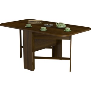 стол обеденный васко ст 8002 слива Стол ВасКо СТ8002 орех валенсия