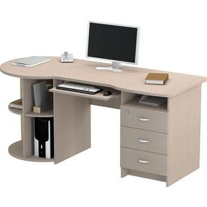 Стол письменный ВасКо ПС4002м1 дуб молочный