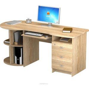 Стол письменный ВасКо ПС4002м1 дуб сонома тумба для тв аппаратуры васко вт1015 дуб сонома
