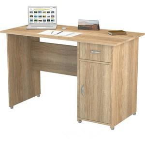 Стол письменный ВасКо ПС4008М1 дуб сонома письменный стол васко рино 206 дуб сонома белый глянец 120 см