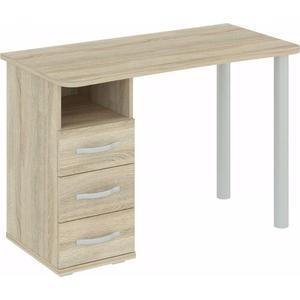 Стол письменный ВасКо ПС4015 дуб сонома письменный стол васко рино 206 дуб сонома белый глянец 120 см