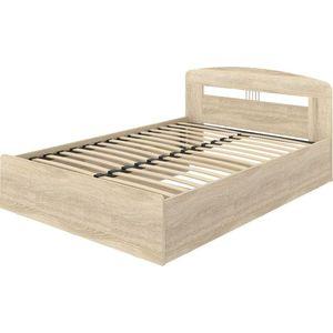 Кровать ВасКо КР 70-06-140 140х200 дуб сонома