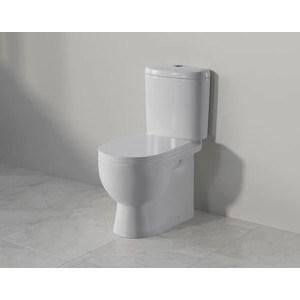 Унитаз компакт SANITA LUXE Art Luxe сиденье дюропласт (ARTSLCC01020622) раковина sanita luxe art раковина подвесная art