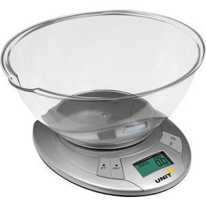 Кухонные весы UNIT UBS-2155 светло-серый unit ubs 2053 light gray весы напольные электронные