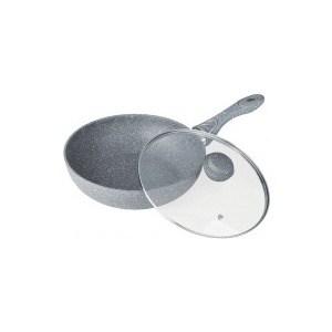 Сковорода-вок d 28 см Bekker (BK-7909) сковорода вок oursson цвет темная вишня диаметр 28 см