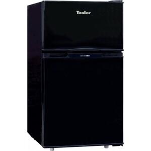 Холодильник Tesler RCT-100 BLACK двухкамерный холодильник tesler rct 100 black
