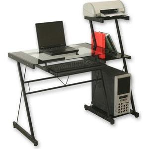 Стол TetChair Technospace WRX-08 стекло прозрачное tetchair стол компьютерный st s240 прозрачное стекло