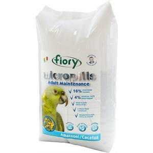 Корм Fiory Micropills Adult Maintenance Amazzoni/Cacatua для амазонских попугаев и какаду 2,5кг пудовъ мука ржаная обдирная 1 кг