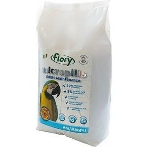 Корм Fiory Micropills Adult Maintenance Ara/Macaws для попугаев Ара 2,5кг