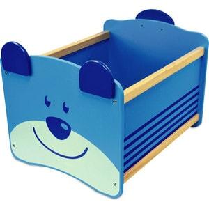 Фотография товара i'm toy Ящик для хранения Медведь(синий) (676097)
