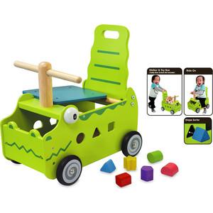 Фотография товара i'm toy Сортер-каталка ''Крокодил'' (676104)