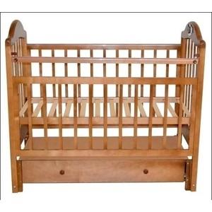 Кроватка Briciola Briciola-10 маятн.прод. ящ. авт. Светлая (BR1005)