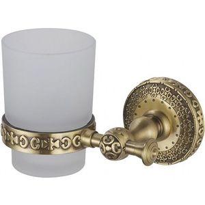 Держатель стакана одинарный ZorG Antic бронза (AZR 03 BR)