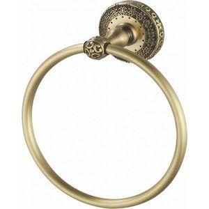 Кольцо для полотенца ZorG Antic бронза (AZR 11 BR) донный клапан zorg antic для раковины бронза azr 2 br