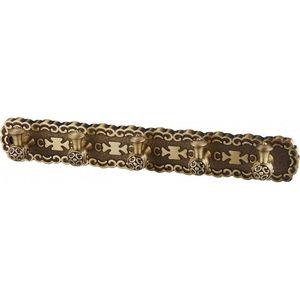 5 крючков на планке ZorG Antic бронза (AZR 18 BR) донный клапан zorg antic для раковины бронза azr 2 br