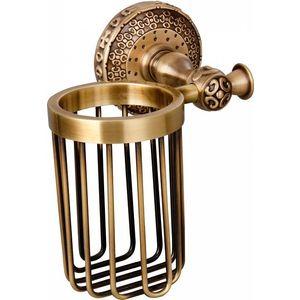Держатель освежителя воздуха ZorG Antic бронза (AZR 19 BR) донный клапан zorg antic для раковины бронза azr 2 br