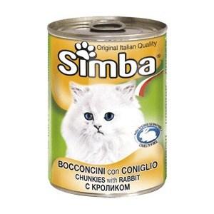 Консервы Simba Petfood Cat Pate with Rabbit с кроликом паштет для кошек 400г консервы gourmet gold паштет с кроликом для кошек 85г 12182548
