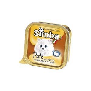 Консервы Simba Petfood Cat Pate with Chicken с курицей паштет для кошек 100г